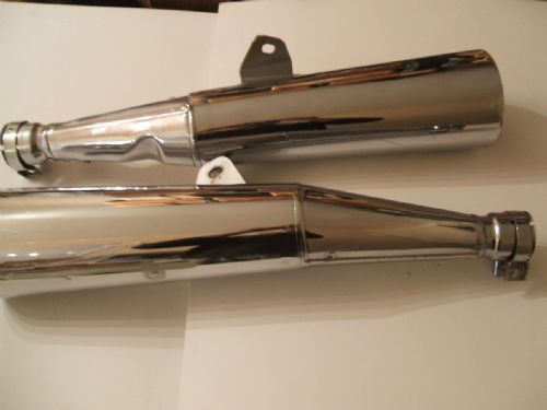 Exhaust silencers (Pair) As New